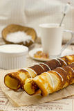 Cocos pancakes Stock Photography