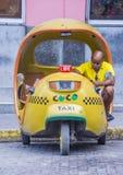 Cocotaxi in de straat van Havana Royalty-vrije Stock Foto's