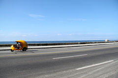 Cocotaxi malecon. Nice taxi for tourists in Havana's malecon Stock Photos