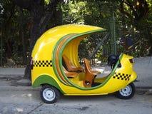 Cocotaxi parkował Obraz Stock
