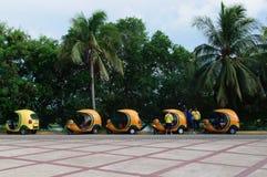 Cocotaxis för turister Arkivfoton