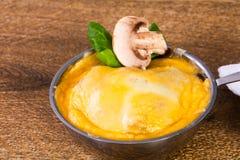 Cocotte гриба с сыром Стоковое Изображение