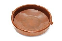 Cocotte en terre de poterie de terre photographie stock libre de droits