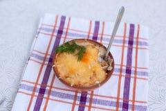 Cocotte julienne гриба Стоковые Изображения RF