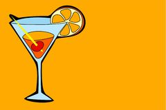 coctail stock illustrationer