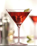 Coctail 2. Red cocktail with shaker in background Stock Photography