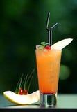 Coctail anaranjado Foto de archivo libre de regalías