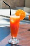 Coctail arancione Immagine Stock