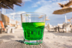 Coctail on the beach Royalty Free Stock Images