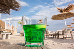 Coctail on the beach Stock Photos