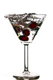 Coctail with cherry Royalty Free Stock Photo