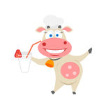 Coctail cow Stock Image