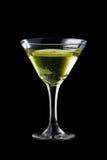 Coctail de Apple martini Fotografía de archivo