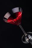 Coctail do fruto no cristal Imagem de Stock Royalty Free