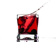Coctail drink splash Stock Photography
