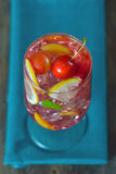Coctail för körsbärsröd plommon Royaltyfria Bilder