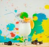 Coctail frais de lait Photographie stock libre de droits