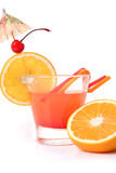 Coctail with fruits Stock Image