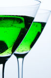 Coctail glasses Royalty Free Stock Image