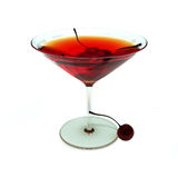 Coctail Manhattan eller Rob Roy Royaltyfria Foton