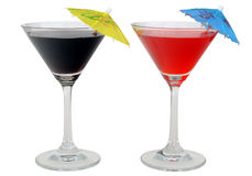 coctail martini Fotografering för Bildbyråer