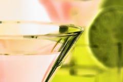 coctail martini Royaltyfri Bild