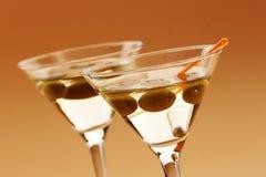 coctail martini Arkivbilder