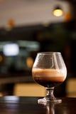 Coctail med kaffe Fotografering för Bildbyråer