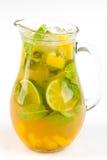 Coctail med limefrukt royaltyfria foton