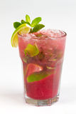 Coctail med limefrukt royaltyfri foto