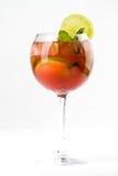 Coctail med limefrukt Arkivfoton
