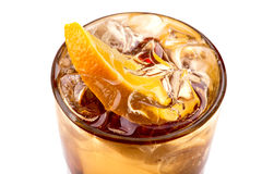 Coctail with orange Stock Photography