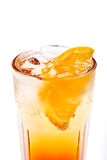 Coctail with orange Stock Images