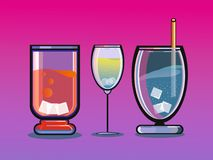 Coctail royalty free illustration