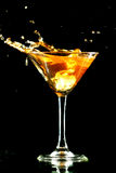 Coctail splash Royalty Free Stock Images
