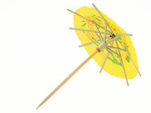 Coctail umbrella. Against a white background Stock Photo