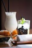 coctailen mjölkar Fotografering för Bildbyråer
