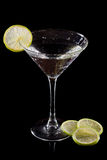 Limefrukt martini royaltyfria foton