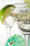 coctailexponeringsglas martini Royaltyfri Fotografi