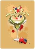 coctailfrukt Fotografering för Bildbyråer