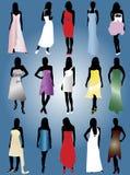 coctailklänningar Royaltyfri Foto