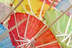 coctailparaplyer arkivbilder