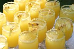 coctails菠萝 库存照片