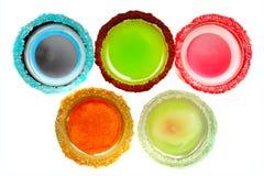 Coctails olympische Ringen Stock Foto