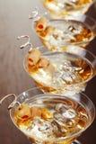 Coctailsamling - Martini Fotografering för Bildbyråer