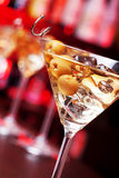 Coctailsamling - Martini Arkivfoto