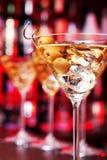 Coctailsamling - Martini Arkivbilder