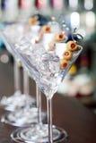 Coctailsamling - Martini Royaltyfri Foto