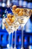 Coctailsamling - Martini Arkivbild