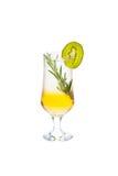 Coctel alcohólico frío Foto de archivo libre de regalías